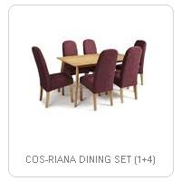 COS-RIANA DINING SET (1+4)